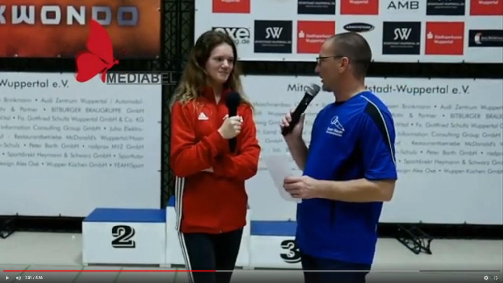 Vanessa Engels - Interview - Taekwondo - Wuppertal